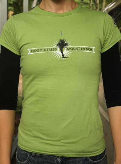 Mt French - Frog Buttress Rockclimbing T-shirt