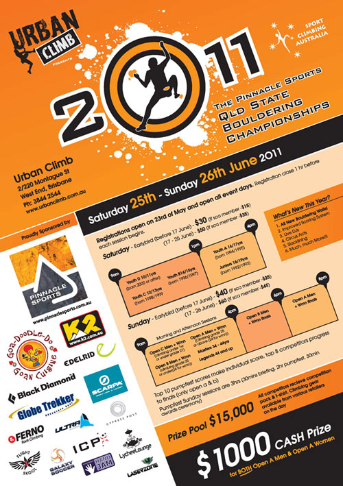 2011 Queensland Bouldering Championships